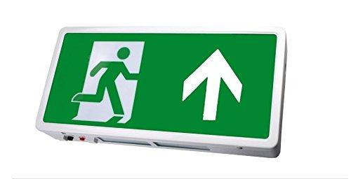 LED Notfallschild Notfall Exit Hoch Notausgang Schild IP20 Fluchtweg Beleuchtung