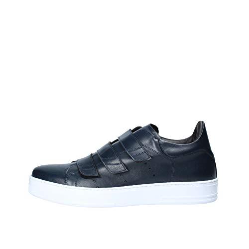 F. Del Piano Sneakers für Herren, Blau - blau - Größe: 43 EU