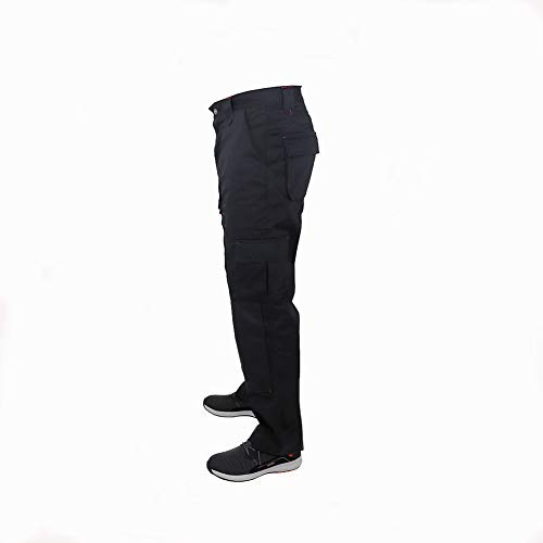 Lee Cooper Men's Cargo Trouser – schwarz -30W/29S - 6