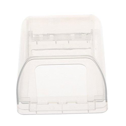 Transparent Steckdose Schutz Abdeckung Kabel Management Aufbewahrungsbox Kabel Organizer - Klar