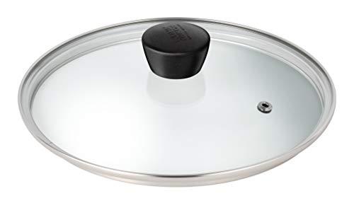 Kuhn Rikon Classic Couvercle en verre en acier inoxydable 20 cm