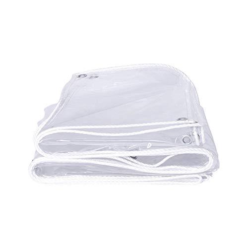 LIANGJUN Transparente Cobertura De Plástico, Cortina De Lluvia para Exteriores para El Hogar, Cubierta De Carga, Cortina De Puerta De Centro Comercial, 400 G / ㎡, 0,3 Mm
