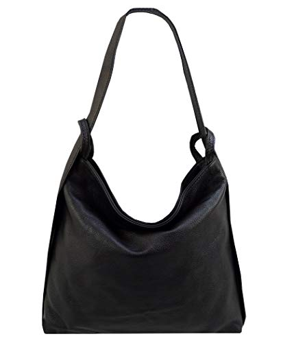 2 in 1 rucksack handtasche leder