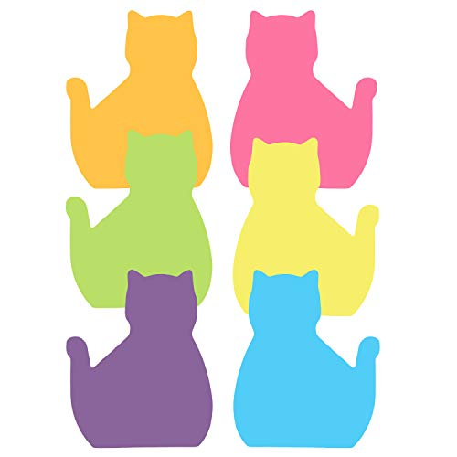 360 Sheets Cat Sticky Notes Set, Cat Lover Gifts for Women, Cute Cat Office Supplies, Office Desk Accessories for Work School Office
