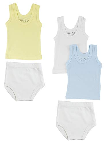 bambini Camiseta sin Mangas y Pantalones de Entrenamiento para niños, tamaño Mediano
