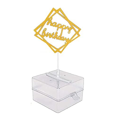 Caja de money para tartas, para hacer galletas, decoración creativa, interesante, para contacto con alimentos, seguro para poner dinero en la tarta, para bodas, fiestas de cumpleaños