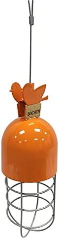 Rare Washable Simple Over item handling ☆ Outdoor Hanging Bird Birdfe Drinker Feeder Metal