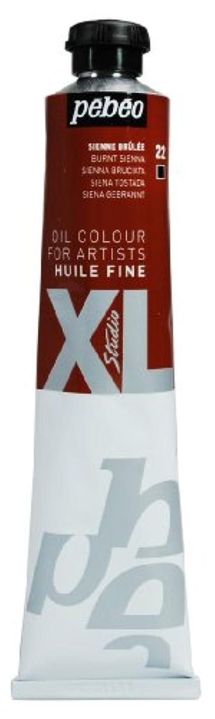 PEBEO Studio XL Fine Oil 80-Milliliter, Burnt Sienna