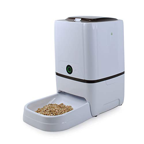 6L Automatic Pet Feeder Food Dispenser for Large Small...