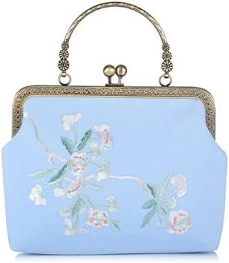 Embroidery bags women's crossbody handbags 9.4