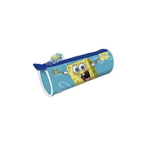 ARDITEX SB13209 Lapicero Portatodo Cilíndrico de 21.5x7.5x7.5cm de Nickelodeon Bob Esponja
