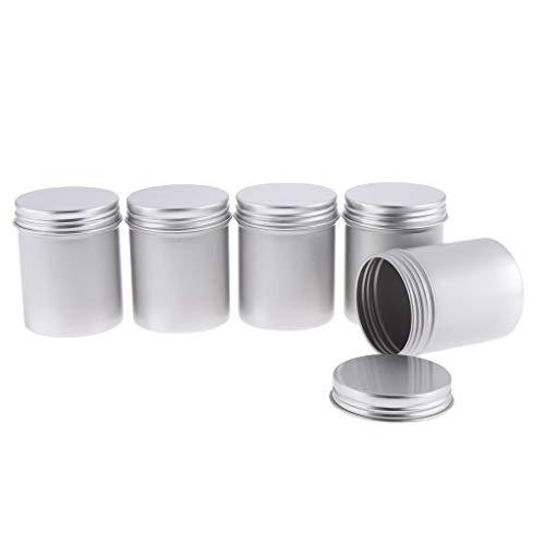 MERIGLARE 5 Paquets de 80 Ml Bocaux En Métal Boîtes de Conserve En Métal Contenants de