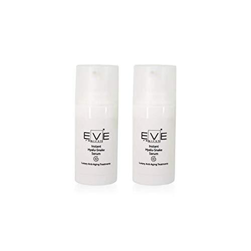 EVE REBIRTH Instant Hyalu-Snake Sérum Anti-Rides Effet Lifting Visage/Contour des Yeux (Set de 2), 15 ml