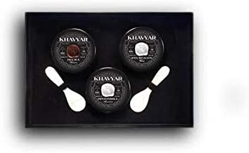 Caviar Gift Set by Khavyar || Classic Domestic Triple (1oz each)