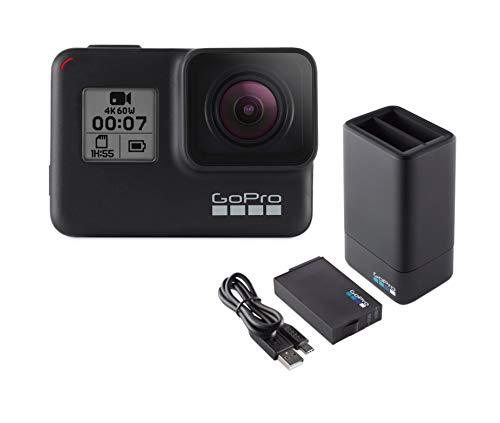 GoPro, caricabatterie doppio, con batteria, per fotocamera...