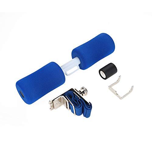 Barra para Sentarse, Rodillo para Sentarse en la Cama, Equipo Deportivo para Entrenamiento Muscular para Adelgazar, Ejercicio en Interiores(Blue)