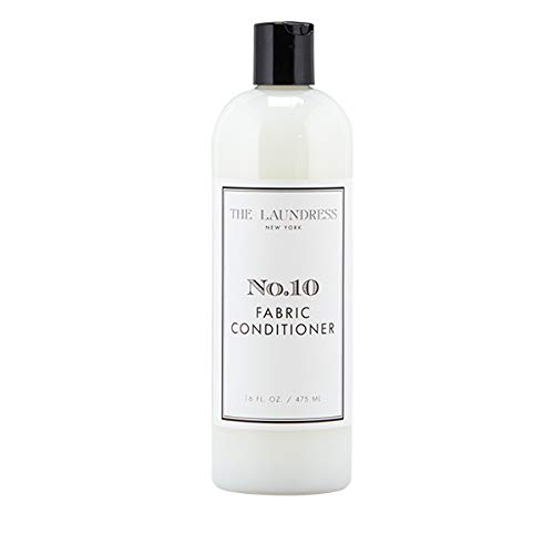 The Laundress - Fabric Conditioner, No. 10, Liquid Fabric Softener, Allergen-Free Laundry Fabric Softener Liquid, Non-Toxic Liquid Softener Formula, 16 fl oz, 16 washes