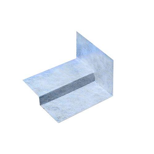 Stufenecken, Ausgleichsecken, Gefälleecken, Dichtecken für bodengleiche Duschen (links, Höhe 20mm)