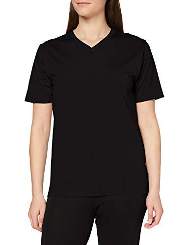 Trigema Damen V Deluxe Baumwolle T-Shirt, Schwarz (Schwarz 008), 58 (Herstellergröße: 4XL)