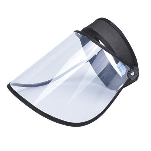 Garneck 2Pcs Protector Facial de Seguridad Anti Salpicadura Protector Facial Protector Visor Protección de La Cabeza del Ojo para El Suministro de Uso de Primeros Auxilios en El Hogar O Al Aire Libre