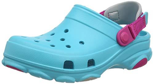 Crocs Classic All Terrain Clog, Obstrucción Unisex Niños, Digital Aqua, 24 EU
