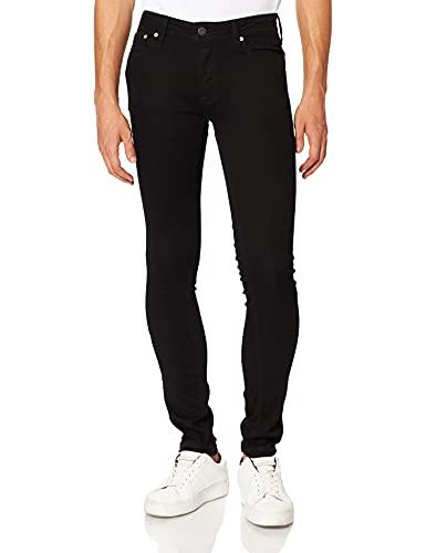Jack & Jones JJILIAM Jjoriginal AM 009 50 SPS Noos Jeans, Black Denim, 29W x 34L Homme