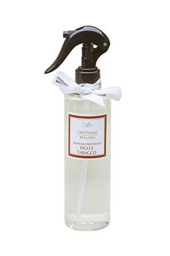 Spray desinfectante para tejidos y superficies 250 ml 90% alcohol (higo y tabaco)