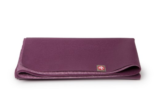 Manduka Rubber Eco Superlight Yoga Mat (One Size, Purple), 1.5 mm Thickness