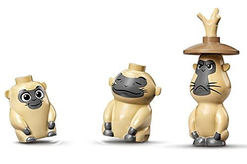 LEGO Disney Uka, Pan + Dyan Ongi Monkey Minifigures desde 43185 (Embolsado)