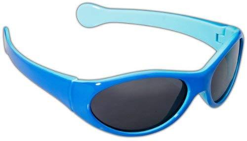 Dice Lunettes de soleil pour enfant Bleu clair/bleu marine Taille unique