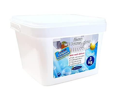 AQUA CLEAN WC Power Pulver 3kg mit Langzeit Frischduft