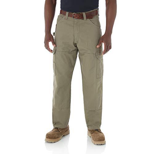 Wrangler Riggs Workwear Men's Ranger Pant,Bark,36x32