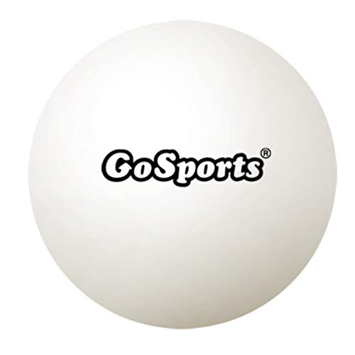 GoSports 55mm XL Table Tennis Balls 12 Pack - Jumbo Table Tennis Balls for Training or Other Toss Games, White