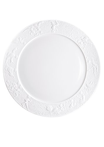 Rosenthal - Zauberflöte Tortenplatte Weiss Ø 42 cm