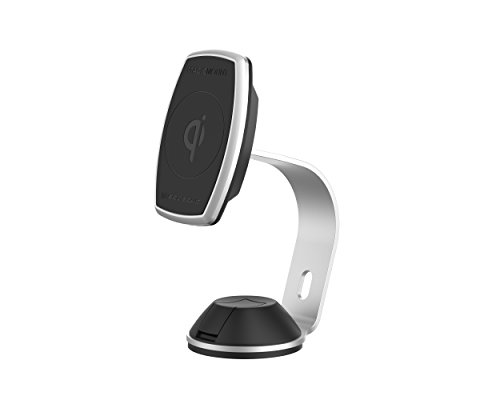 SCOSCHE MPQ2OH-XTSP MagicMount Pro Charge 10W Qi-Certified Wireless Fast Charge Magnetic Phone Mount for The Home or Office