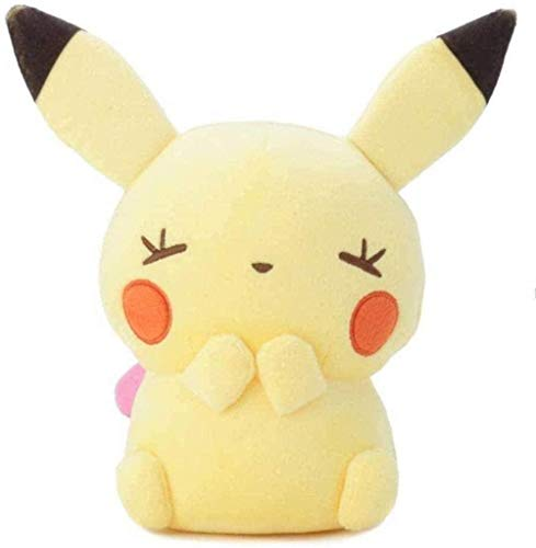 N-R Cute Pikachu Plush Toys 30Cm Soft Stuffed Creative Claw Machine Doll for Girlfriend Children Gift Toy