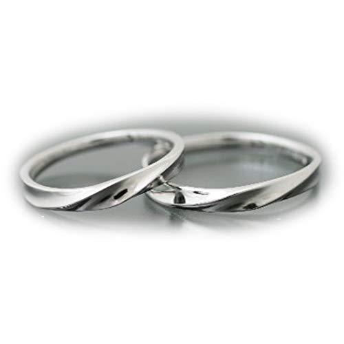 [ココカル]cococaru ペアリング プラチナ 結婚指輪 プラチナ Pt900 2本セット マリッジリング 日本製 (レディースサイズ7号 メンズサイズ12号)