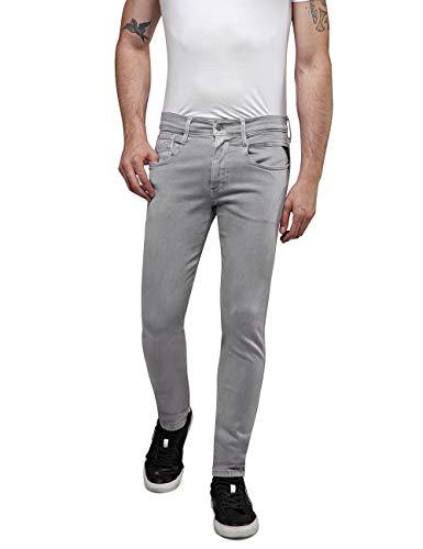 Replay Herren Anbass Jeans, Grau (Stone Grey 400), W38/L34 (Herstellergröße: 38)