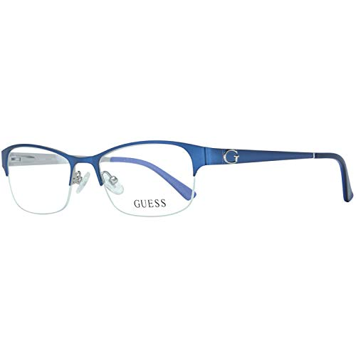 Guess Brille Gu2567 092 51 Monturas de gafas, Azul (Blau), 51.0 para Mujer