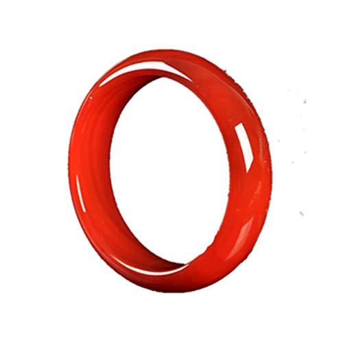 DWXN joyería de la Pulsera de ágata cornalina Natural de Jade 56mm