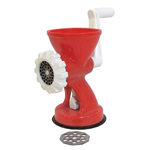 Hachoir mincy PVC Rouge avec accessoires cm.20