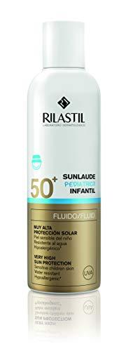 Rilastil Sunlaude Pediatrics - Fluido para la Protección Solar Infantil, SPF 50+, 200 ml