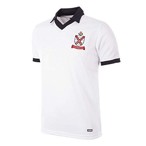 copa Fulham FC Retro Trikot 1977/1981 weiß, L