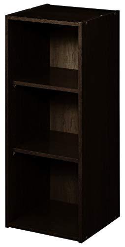 ClosetMaid 8985 Stackable 3-Shelf Organizer, Espresso