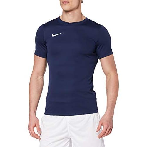 Nike Park VI, T-shirt, Uomo, Blu (Midnight Navy/White), S