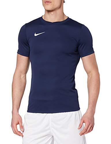 Nike Park VI Camiseta de Manga Corta para hombre, Azul (Midnight Navy/White), M