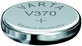 VARTA Lot de 2 piles oxyde argent pour montres V370 (SR69) SR920SW 1,55 volt