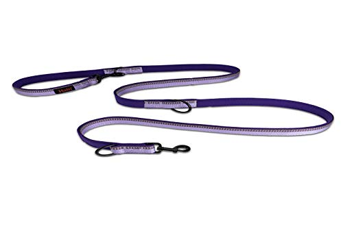 Halti Hundeleine, doppelseitig, klein, Violett, 0,08 kg