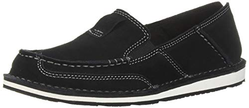 Ariat Women's Cruiser Slip-on Shoe, Black, 8.5 B US