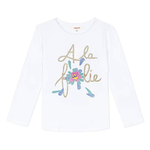 Catimini CQ10255 Tee Shirt, Blanc (Blanc 01), 7 Ans (Taille